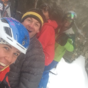 Always Have to Take  a Summit Photo: Jess Mcmillan, Eric Seymour, Aaron Pruzan, and Tanner Flanagan.