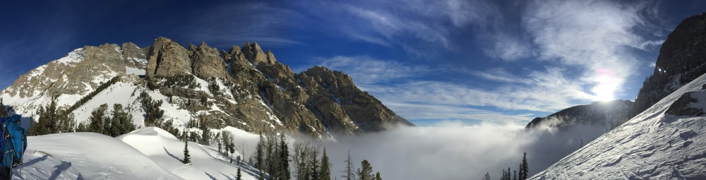A beautiful view of the inversion.