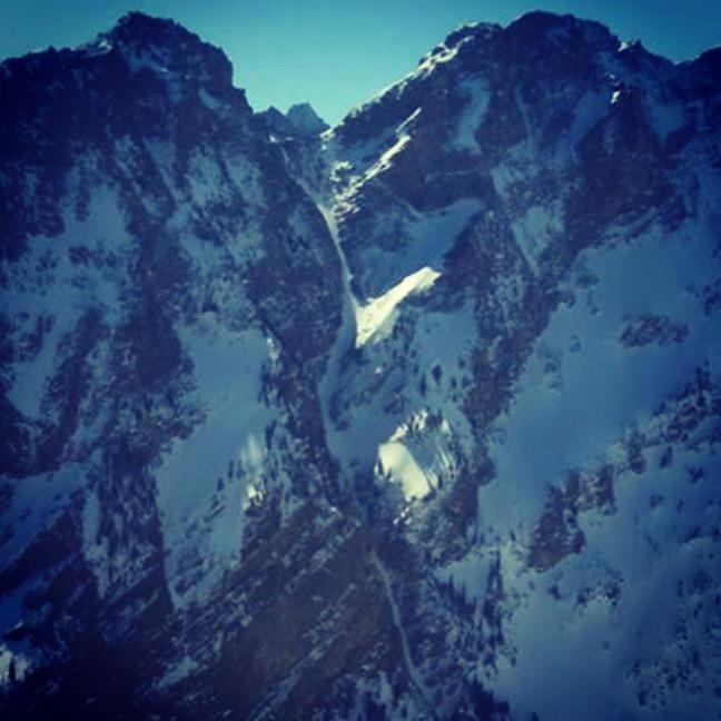 A great look at the Fallopian Tube from Mount Moran.