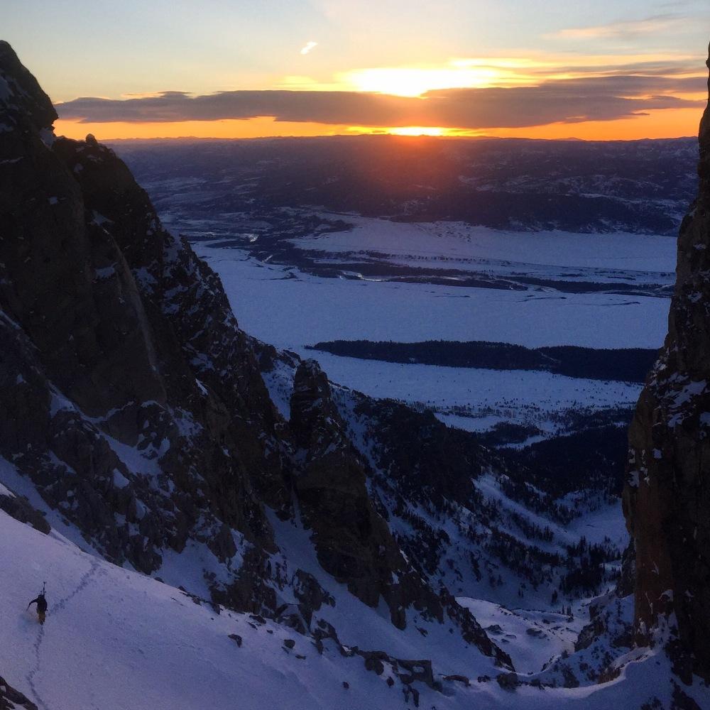 Sunrise - Teepee Glacier